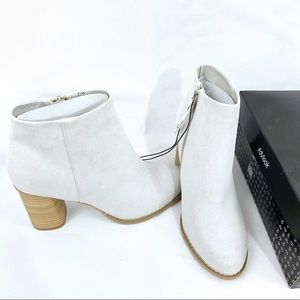 Dolce Vita Grey Emerson Heeled Boots 7.5